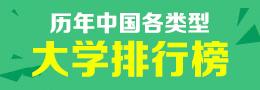 历年中国各类型大学排行榜
